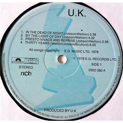 Картинка  Виниловые пластинки  U.K. – U.K. / 2302 080 в  Vinyl Play магазин LP и CD   07074 4