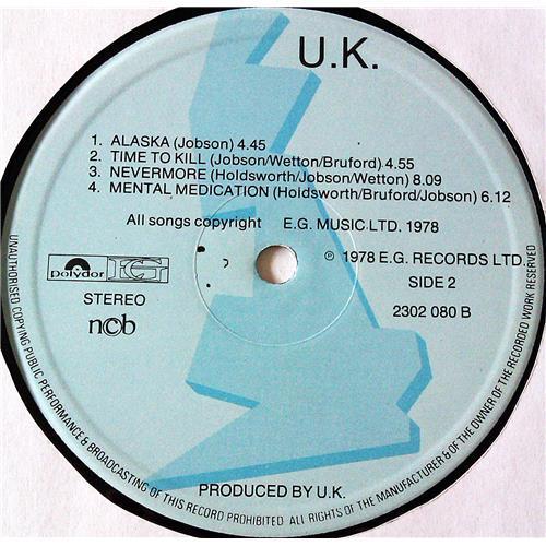 Картинка  Виниловые пластинки  U.K. – U.K. / 2302 080 в  Vinyl Play магазин LP и CD   07074 5