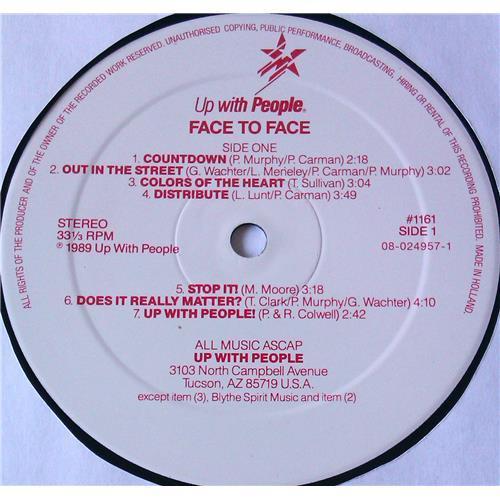 Картинка  Виниловые пластинки  Up With People – Face To Face / 1161 в  Vinyl Play магазин LP и CD   05883 6