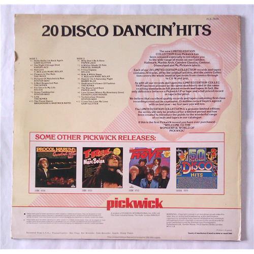 Картинка  Виниловые пластинки  Various – 20 Disco Dancin' Hits / PLE 7010 в  Vinyl Play магазин LP и CD   06295 1