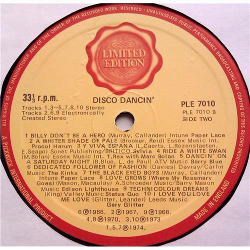 Картинка  Виниловые пластинки  Various – 20 Disco Dancin' Hits / PLE 7010 в  Vinyl Play магазин LP и CD   06295 3