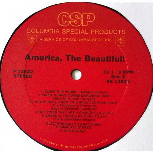Картинка  Виниловые пластинки  Various – America, The Beautiful! / P 12822 в  Vinyl Play магазин LP и CD   05623 3