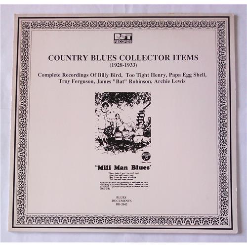 Виниловые пластинки  Various – Country Blues Collector Items (1928-1933) / BD-2042 в Vinyl Play магазин LP и CD  05689