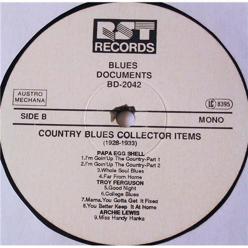 Картинка  Виниловые пластинки  Various – Country Blues Collector Items (1928-1933) / BD-2042 в  Vinyl Play магазин LP и CD   05689 3