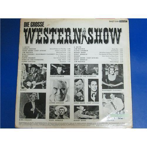 Картинка  Виниловые пластинки  Various – Die Grosse Western-Show / SHZT 519 в  Vinyl Play магазин LP и CD   04180 1