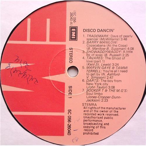 Картинка  Виниловые пластинки  Various – Disco Dancin' (14 Original Hits) / 5C 056-26040 в  Vinyl Play магазин LP и CD   06294 2