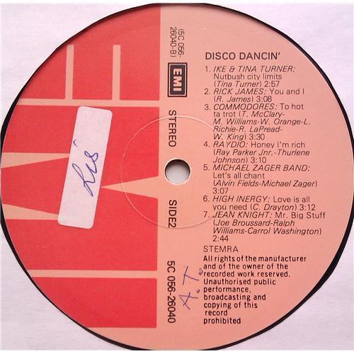 Картинка  Виниловые пластинки  Various – Disco Dancin' (14 Original Hits) / 5C 056-26040 в  Vinyl Play магазин LP и CD   06294 3