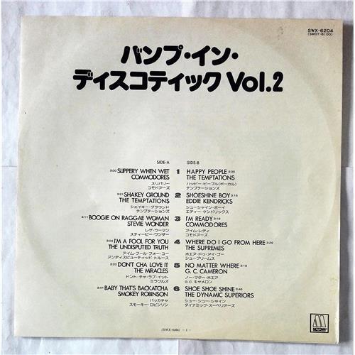 Картинка  Виниловые пластинки  Various – Disco Sound Bump In Discotheque Vol. 2 / SWX-6204 в  Vinyl Play магазин LP и CD   07472 2