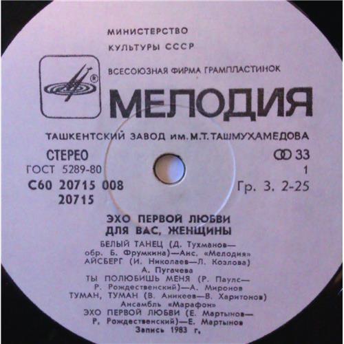 Картинка  Виниловые пластинки  Various – Эхо Первой Любви / С60 20715 008 в  Vinyl Play магазин LP и CD   03861 2