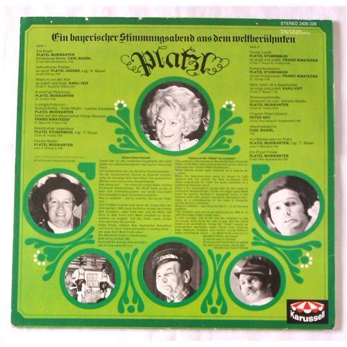 Картинка  Виниловые пластинки  Various – Ein Bayerischer Stimmungsabend Aus Dem Weltberuhmten Platzl / 2430 228 в  Vinyl Play магазин LP и CD   06588 1