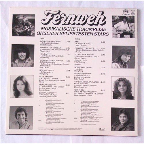 Картинка  Виниловые пластинки  Various – Fernweh - Musikalische Traumreise Unserer Beliebtesten Stars / ALA 85 147 в  Vinyl Play магазин LP и CD   06998 1