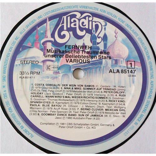 Картинка  Виниловые пластинки  Various – Fernweh - Musikalische Traumreise Unserer Beliebtesten Stars / ALA 85 147 в  Vinyl Play магазин LP и CD   06998 2