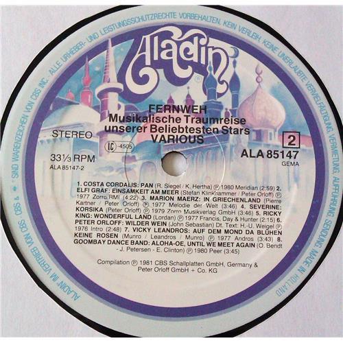 Картинка  Виниловые пластинки  Various – Fernweh - Musikalische Traumreise Unserer Beliebtesten Stars / ALA 85 147 в  Vinyl Play магазин LP и CD   06998 3
