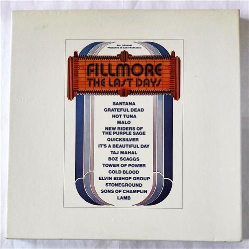 Виниловые пластинки  Various – Fillmore - The Last Days / P-5055-7W в Vinyl Play магазин LP и CD  07708