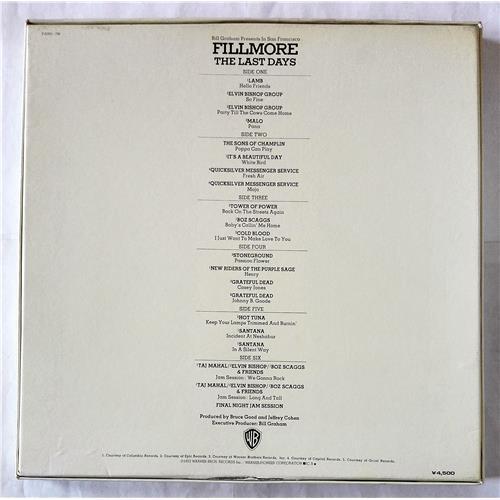 Картинка  Виниловые пластинки  Various – Fillmore - The Last Days / P-5055-7W в  Vinyl Play магазин LP и CD   07708 1