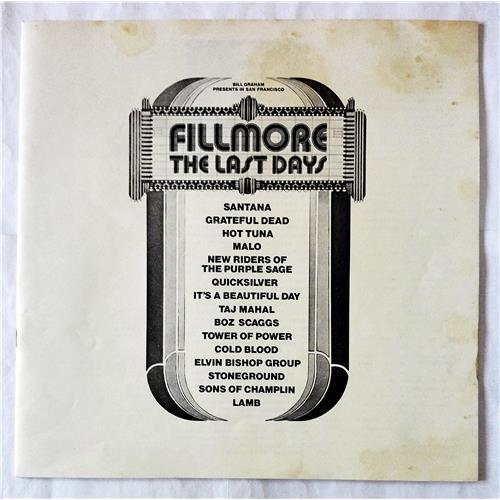 Картинка  Виниловые пластинки  Various – Fillmore - The Last Days / P-5055-7W в  Vinyl Play магазин LP и CD   07708 2