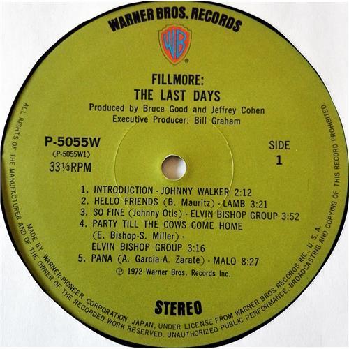 Картинка  Виниловые пластинки  Various – Fillmore - The Last Days / P-5055-7W в  Vinyl Play магазин LP и CD   07708 11