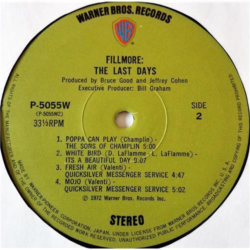 Картинка  Виниловые пластинки  Various – Fillmore - The Last Days / P-5055-7W в  Vinyl Play магазин LP и CD   07708 12