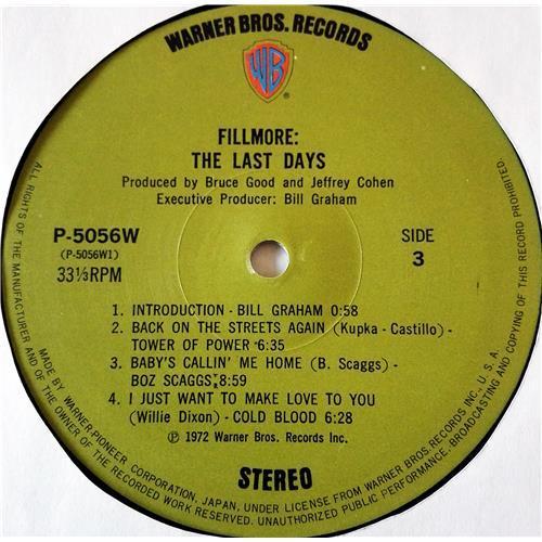 Картинка  Виниловые пластинки  Various – Fillmore - The Last Days / P-5055-7W в  Vinyl Play магазин LP и CD   07708 13