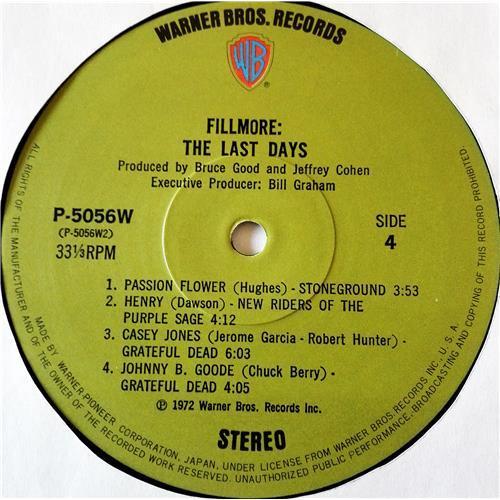 Картинка  Виниловые пластинки  Various – Fillmore - The Last Days / P-5055-7W в  Vinyl Play магазин LP и CD   07708 14