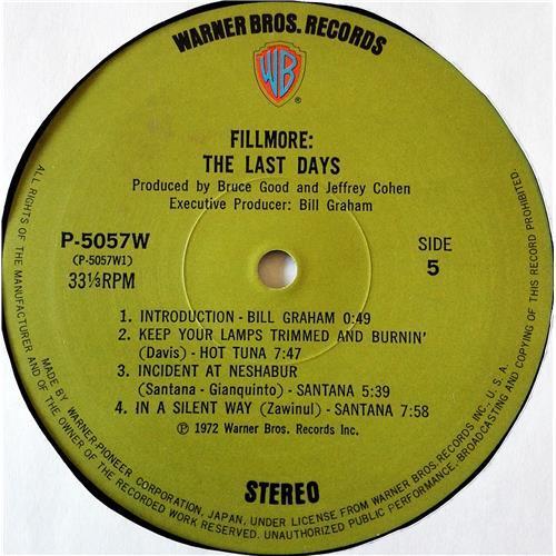 Картинка  Виниловые пластинки  Various – Fillmore - The Last Days / P-5055-7W в  Vinyl Play магазин LP и CD   07708 15