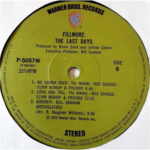 Картинка  Виниловые пластинки  Various – Fillmore - The Last Days / P-5055-7W в  Vinyl Play магазин LP и CD   07708 16