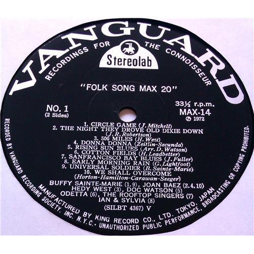 Картинка  Виниловые пластинки  Various – Folk Song MAX 20 / MAX 14 в  Vinyl Play магазин LP и CD   05807 3