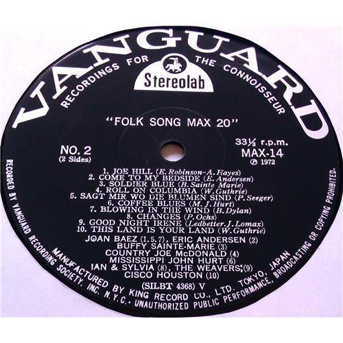 Картинка  Виниловые пластинки  Various – Folk Song MAX 20 / MAX 14 в  Vinyl Play магазин LP и CD   05807 4