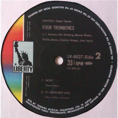 Картинка  Виниловые пластинки  Various – Four Trombones / LR-8827 в  Vinyl Play магазин LP и CD   04550 3