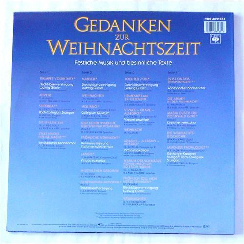Картинка  Виниловые пластинки  Various – Gedanken Zur Weihnachtszeit - Festliche Musik Und Besinnliche Texte / CBS 463135 1 в  Vinyl Play магазин LP и CD   06480 1
