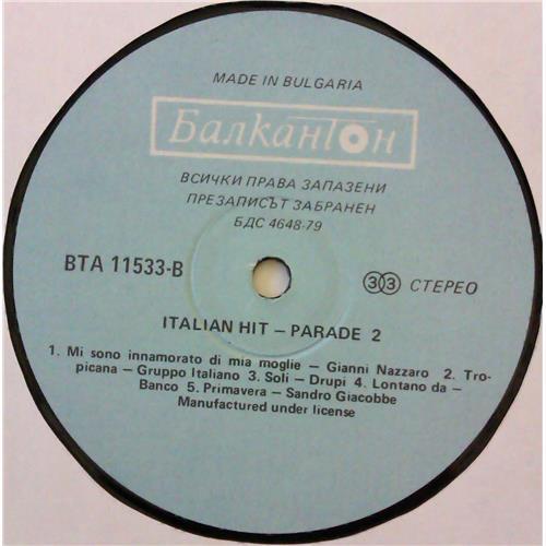 Картинка  Виниловые пластинки  Various – Italian Hit-Parade 2 / ВТА 11533 в  Vinyl Play магазин LP и CD   04637 3