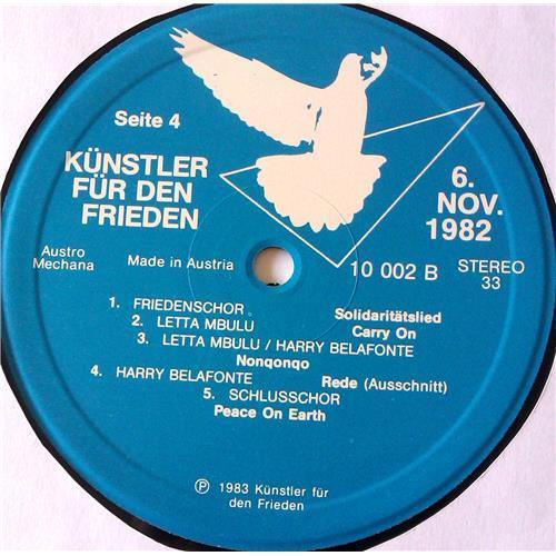 Картинка  Виниловые пластинки  Various – Kunstler Fur Den Frieden - 6 November 1982 - Wien / 10 001 в  Vinyl Play магазин LP и CD   06753 7