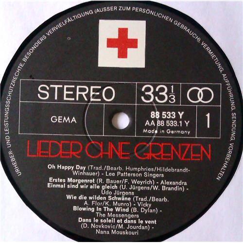 Картинка  Виниловые пластинки  Various – Lieder Ohne Grenzen / 88 533 Y в  Vinyl Play магазин LP и CD   05423 6