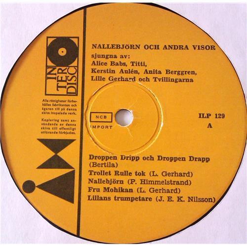 Картинка  Виниловые пластинки  Various – Nallebjorn Och Andra Visor / ILP 129 в  Vinyl Play магазин LP и CD   06926 2
