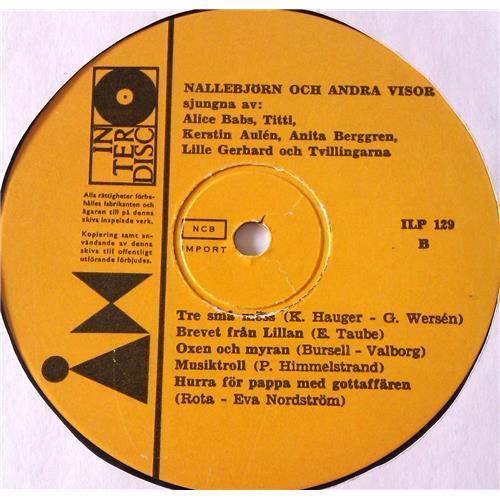 Картинка  Виниловые пластинки  Various – Nallebjorn Och Andra Visor / ILP 129 в  Vinyl Play магазин LP и CD   06926 3