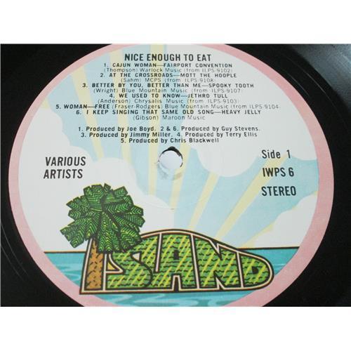 Картинка  Виниловые пластинки  Various – Nice Enough To Eat / IWPS 6 в  Vinyl Play магазин LP и CD   04126 4