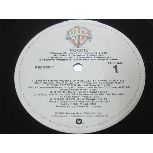 Картинка  Виниловые пластинки  Various – Roadie (Original Motion Picture Sound Track) / 2HS 3441 в  Vinyl Play магазин LP и CD   00418 4