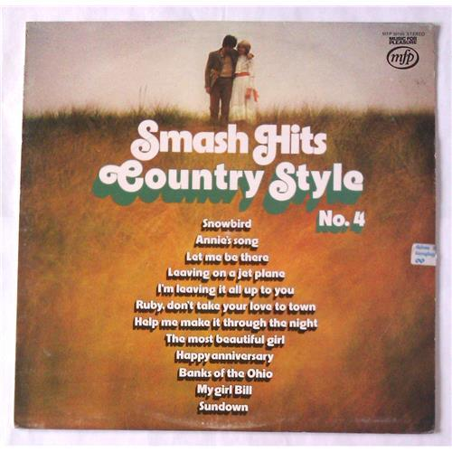 Виниловые пластинки  Various – Smash Hits Country Style No. 4 / MFP 50196 в Vinyl Play магазин LP и CD  05900