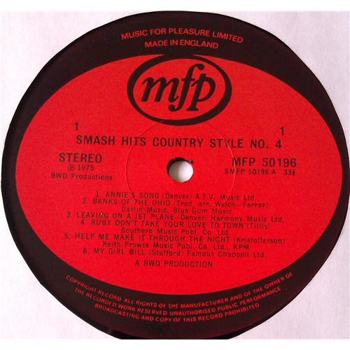 Картинка  Виниловые пластинки  Various – Smash Hits Country Style No. 4 / MFP 50196 в  Vinyl Play магазин LP и CD   05900 2
