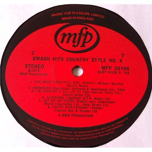 Картинка  Виниловые пластинки  Various – Smash Hits Country Style No. 4 / MFP 50196 в  Vinyl Play магазин LP и CD   05900 3