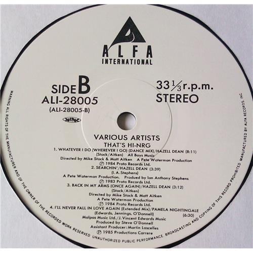 Картинка  Виниловые пластинки  Various – That's HI-NRG / ALI-28005 в  Vinyl Play магазин LP и CD   05737 5