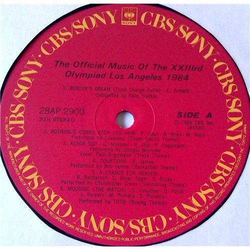 Картинка  Виниловые пластинки  Various – The Official Music Of The XXIIIrd Olympiad Los Angeles 1984 / 28AP 2900 в  Vinyl Play магазин LP и CD   05757 6