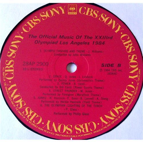 Картинка  Виниловые пластинки  Various – The Official Music Of The XXIIIrd Olympiad Los Angeles 1984 / 28AP 2900 в  Vinyl Play магазин LP и CD   05757 7
