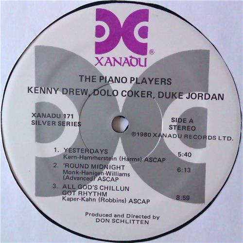 Картинка  Виниловые пластинки  Various – The Piano Players / Xanadu 171 в  Vinyl Play магазин LP и CD   04583 2