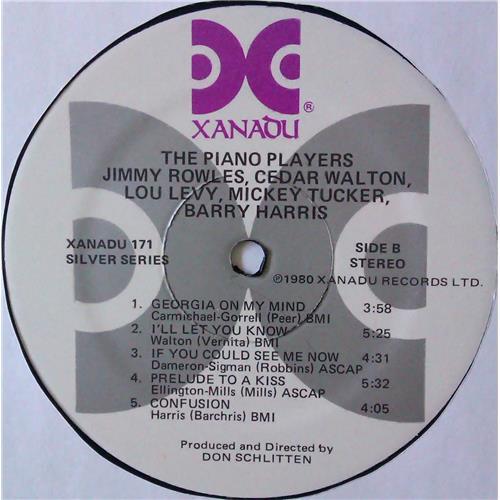 Картинка  Виниловые пластинки  Various – The Piano Players / Xanadu 171 в  Vinyl Play магазин LP и CD   04583 3
