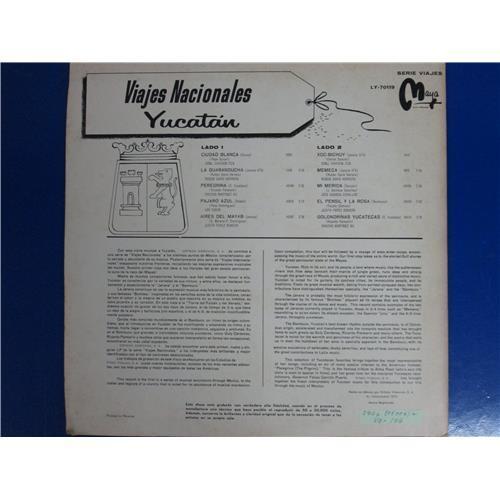 Картинка  Виниловые пластинки  Various – Viajes Nacionales (Yucatan) / LY-70119 в  Vinyl Play магазин LP и CD   05006 1