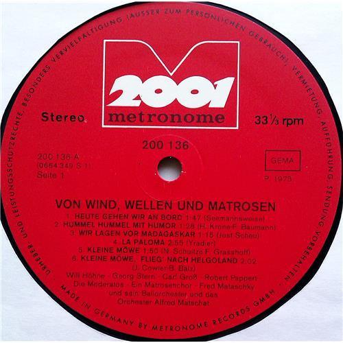 Картинка  Виниловые пластинки  Various – Von Wind, Wellen Und Matrosen / 200.136 в  Vinyl Play магазин LP и CD   07410 2