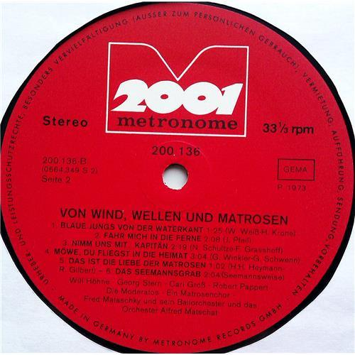 Картинка  Виниловые пластинки  Various – Von Wind, Wellen Und Matrosen / 200.136 в  Vinyl Play магазин LP и CD   07410 3