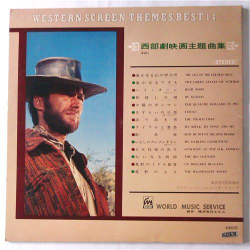 Картинка  Виниловые пластинки  Various – Western Screen Themes Best 14 / W-001 в  Vinyl Play магазин LP и CD   05443 3
