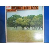 Various – World's Folk Song Gold Deluxe / RCA-8107-8